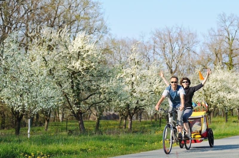 Bicicleta en tándem imagen de archivo libre de regalías