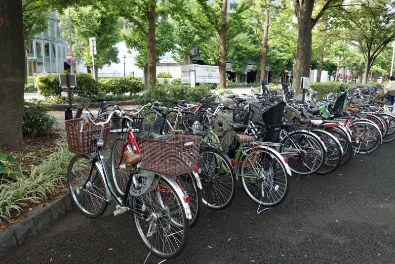 Bicicleta japonesa fotografia de stock royalty free