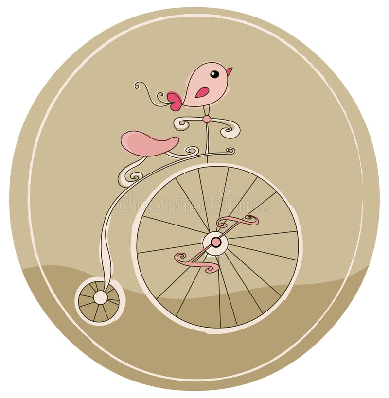 Bicicleta retra libre illustration