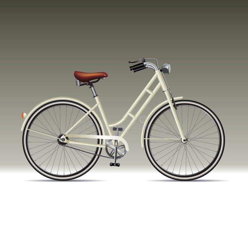 Bicicleta Retro Ilustração do Vetor