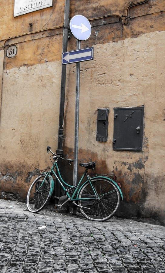 Bicicleta, Roma, Itália imagem de stock