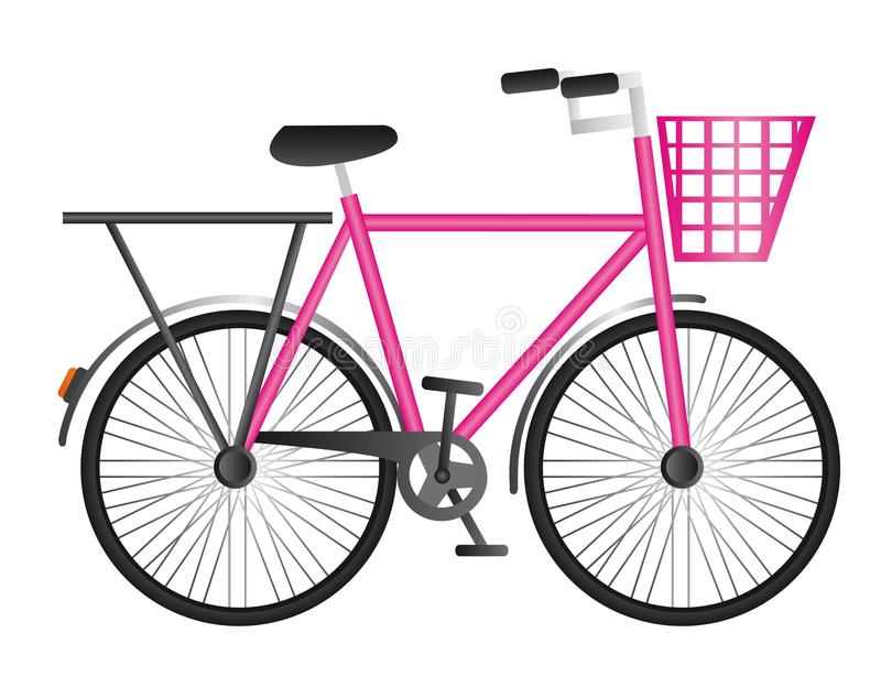 Bicicleta rosada libre illustration