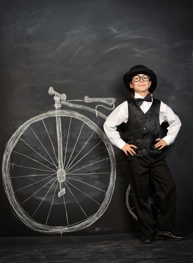 Bicicleta tirada imagem de stock royalty free