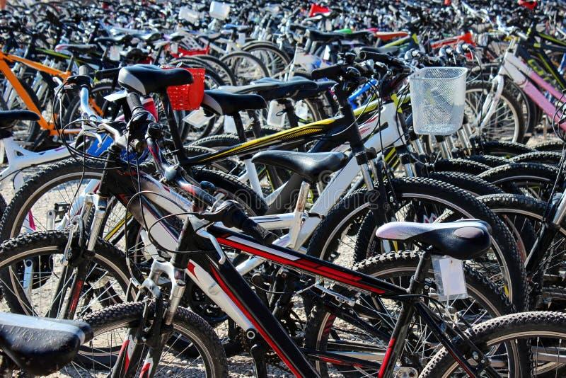 Bicicletas foto de archivo