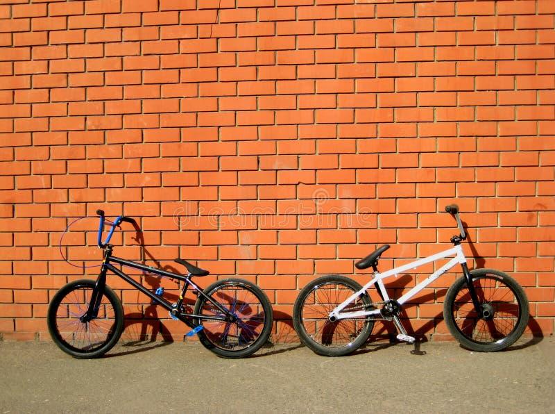 Bicicletas de Bmx foto de stock royalty free
