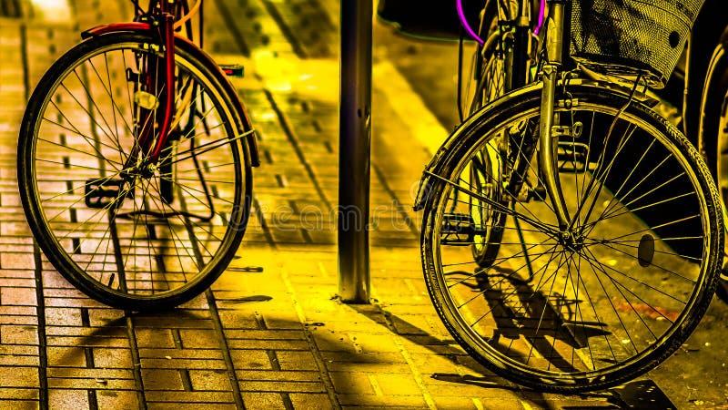 Bicicletas del amor imágenes de archivo libres de regalías