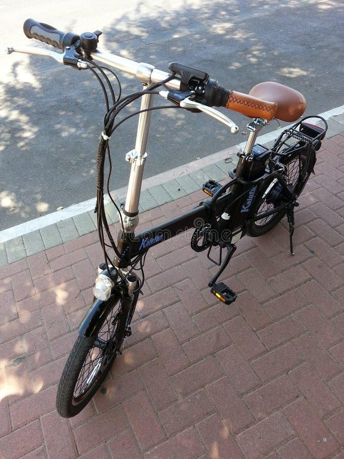 Bicicletas eletrônicas imagem de stock