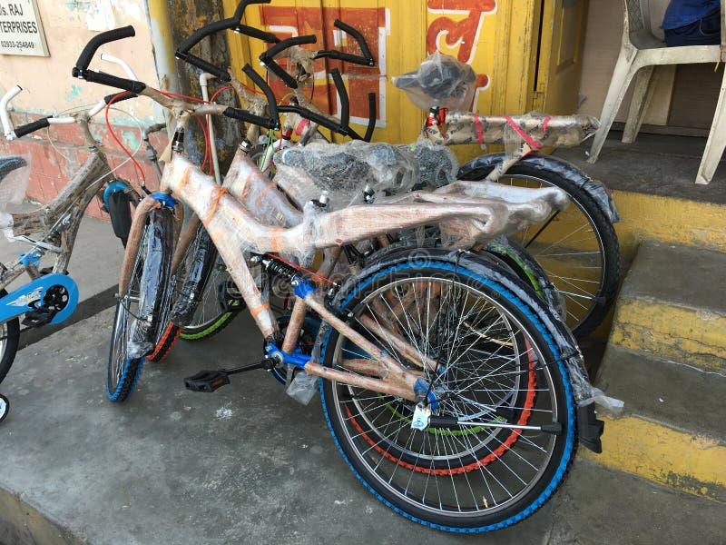 Bicicletas para la venta fotografía de archivo libre de regalías