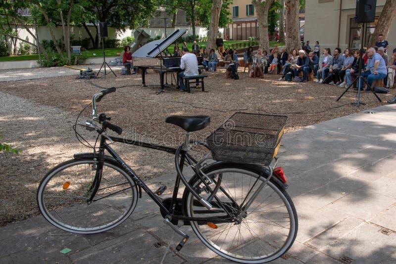 Bicicletta жулика pianistico концерта стоковые изображения rf