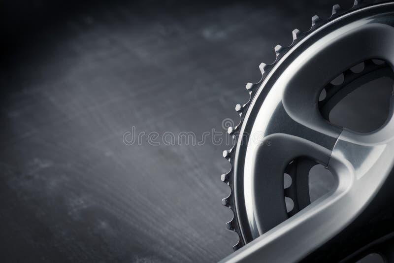 Bicicletta che corre manovella fotografia stock libera da diritti