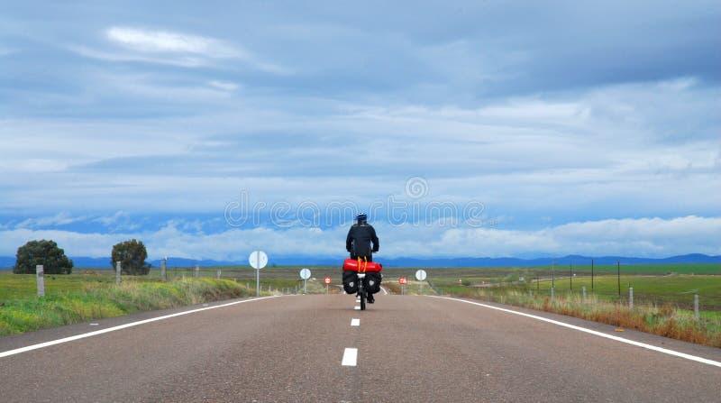 Bicicletta che fa un giro in Spagna fotografia stock libera da diritti