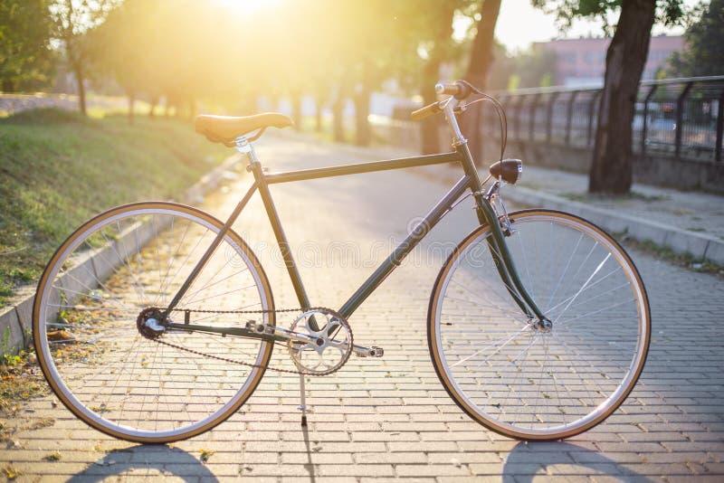 Bicicletta classica di stile immagine stock