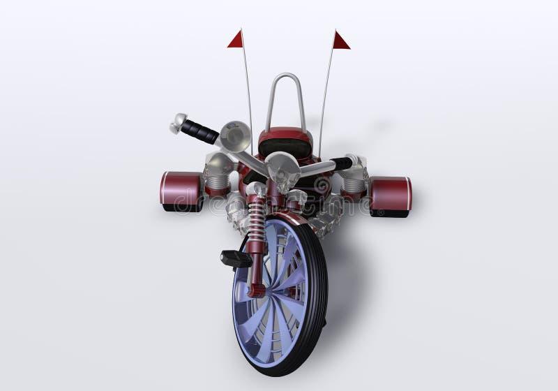 bicicletta 3d fotografia stock