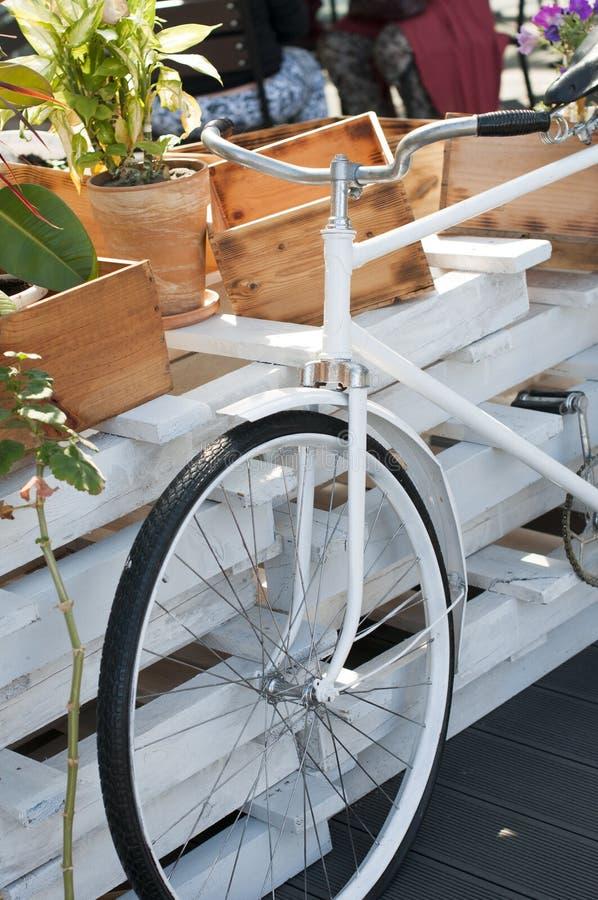 Bicicletta d'annata della decorazione immagini stock libere da diritti
