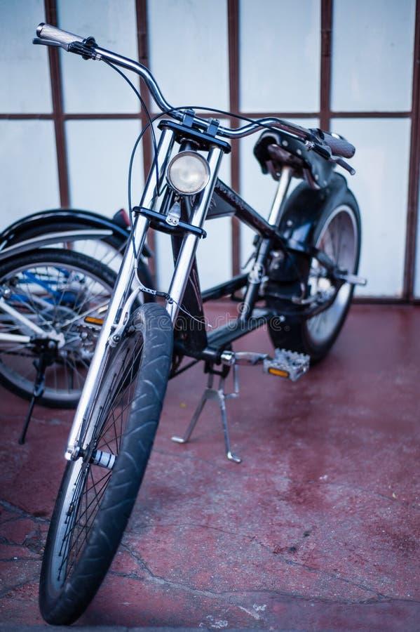 Bicicletta del selettore rotante fotografia stock