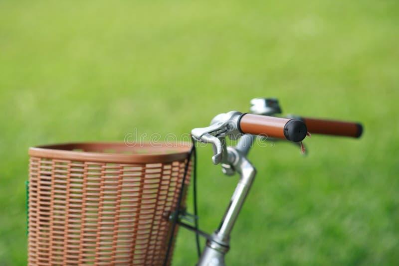 Bicicletta nella sosta immagine stock libera da diritti