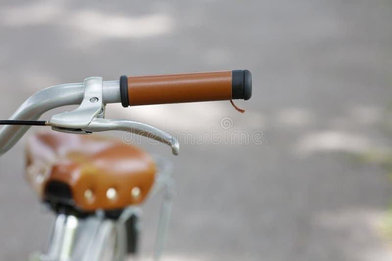 Bicicletta nella sosta fotografia stock