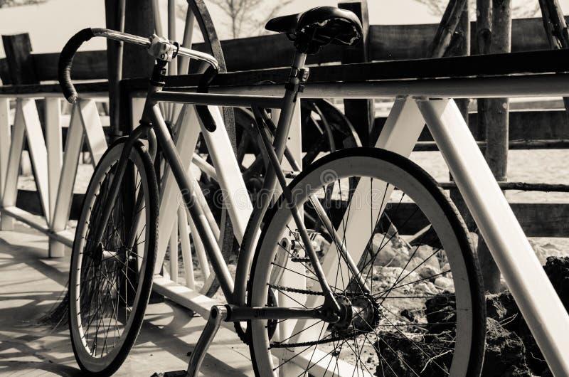 Bicicletta semplice immagine stock