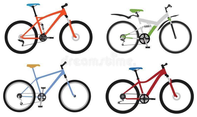 Download Biciclette, parte 2 illustrazione vettoriale. Illustrazione di pedale - 55352874