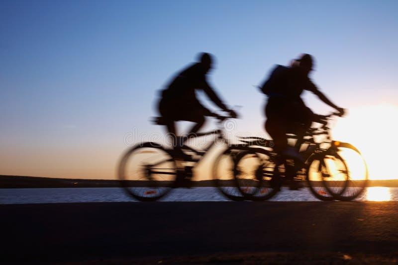 Bicicling imagen de archivo libre de regalías