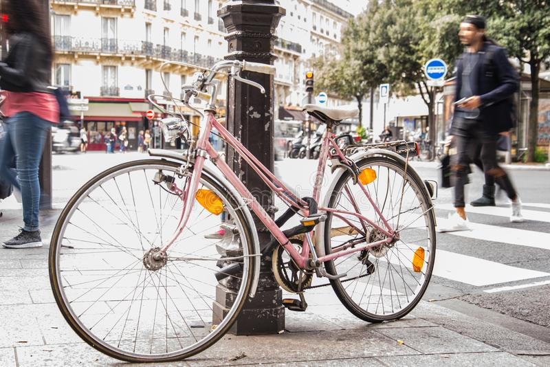 Bicycle, Bike, City royalty free stock photo