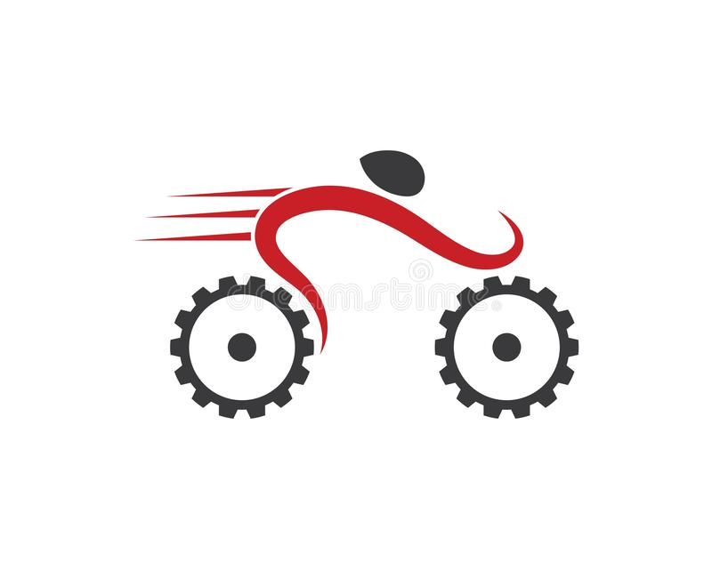 Bicycle and Bike icon vector illustration. Design vector illustration