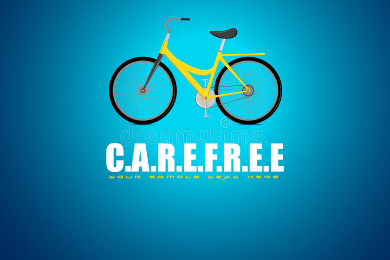 Bicycle in Carefree Background