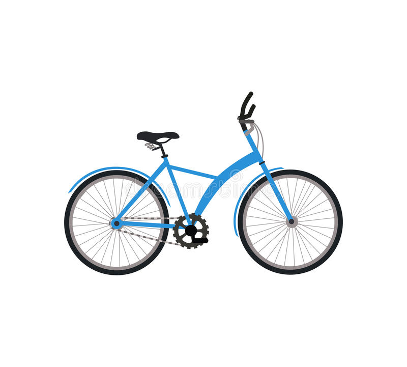 Bicycle Design Flat royalty free illustration
