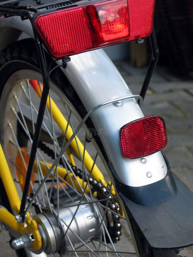 Bicycle detail stock image