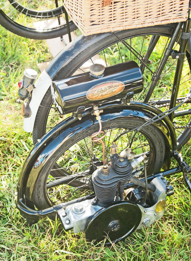Download Bicycle With Engine Editorial Photo - Image: 34041691