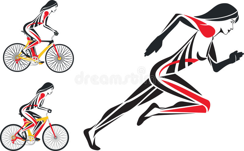 Bicycle fitness and run