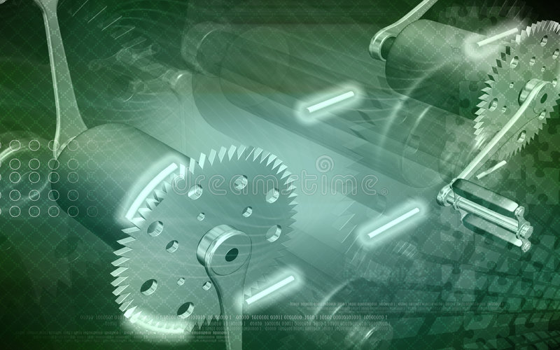 Download Bicycle gear and pedal stock illustration. Image of imagination - 7593798