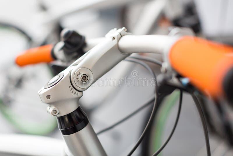 Bicycle handle stock photography