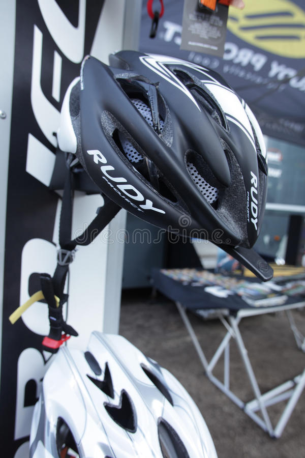 Download Bicycle helmet editorial image. Image of industry, expo - 27121125