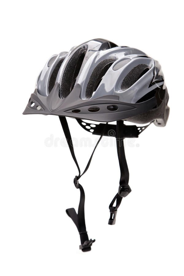 Bicycle Helmet With Straps Royalty Free Stock Photo