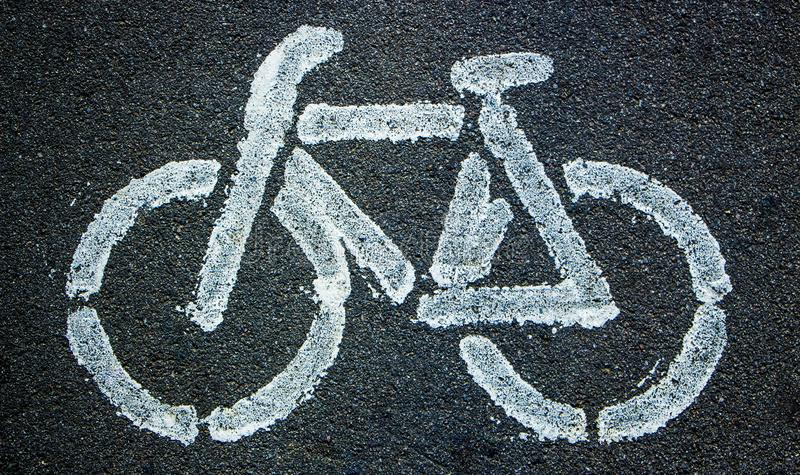 Bicycle icon background texture with some fine grain stock image