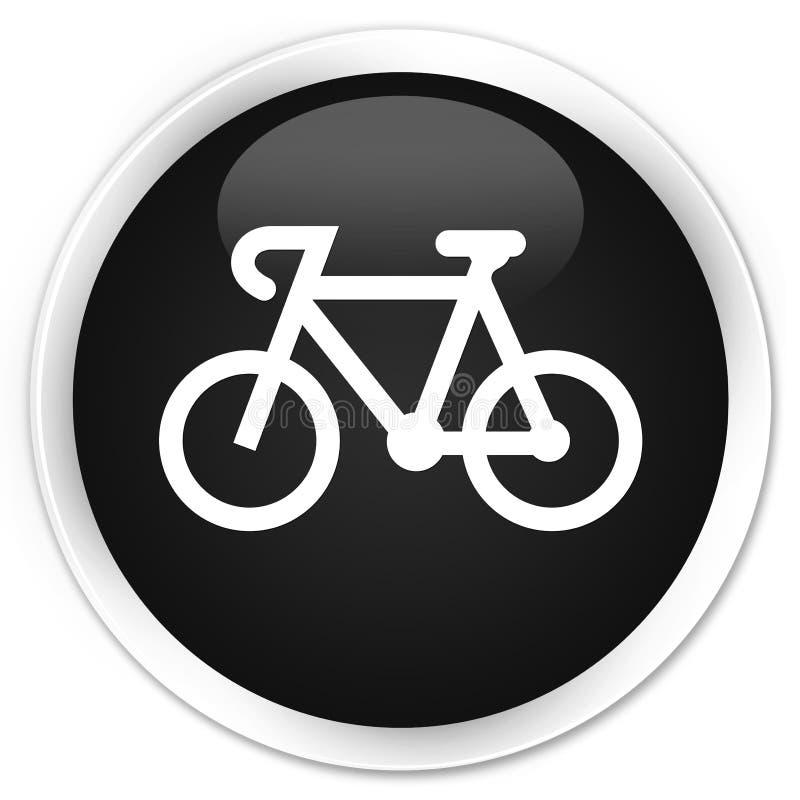 Bicycle icon premium black round button royalty free illustration