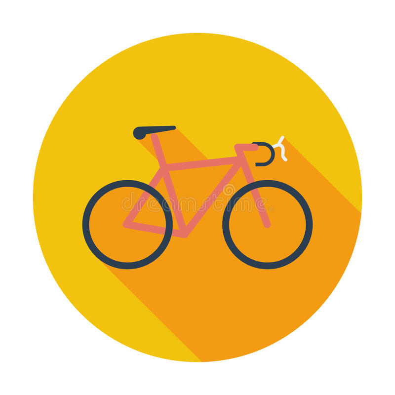 Bicycle icon. stock illustration