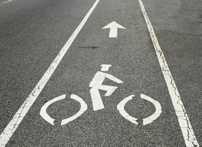 Download Bicycle Lane Stock Photos - Image: 14553243