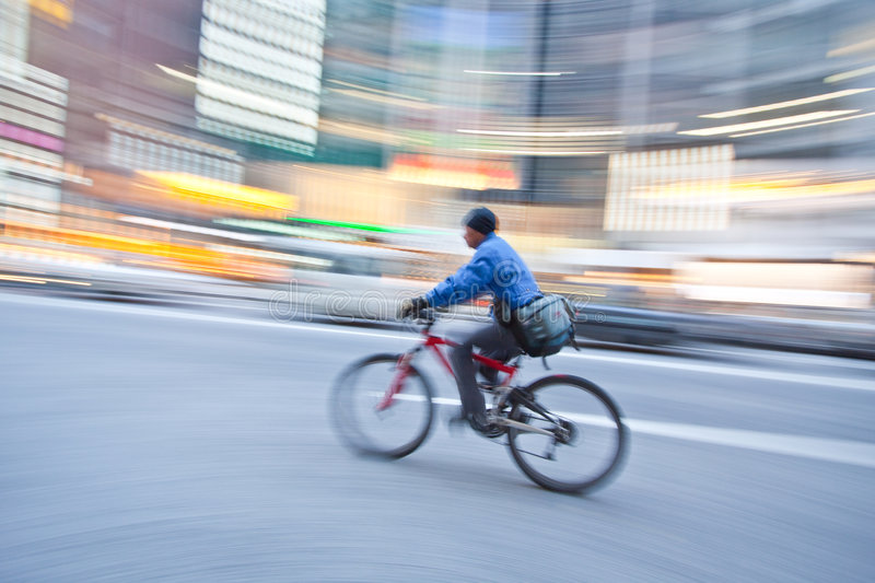 Download Bicycle in motion blur stock photo. Image of europe, lapse - 9086094