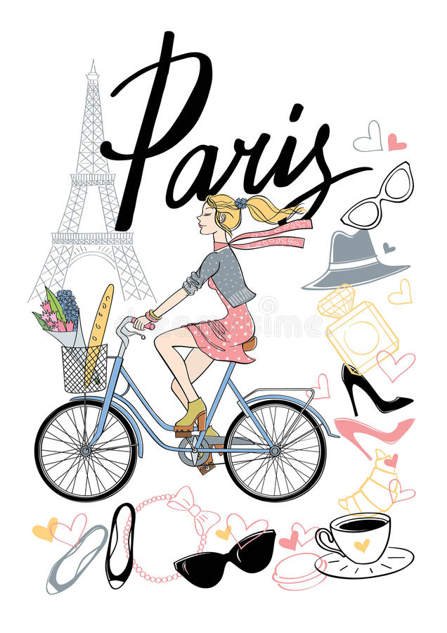 Bicycle_paris7 zdjęcia royalty free