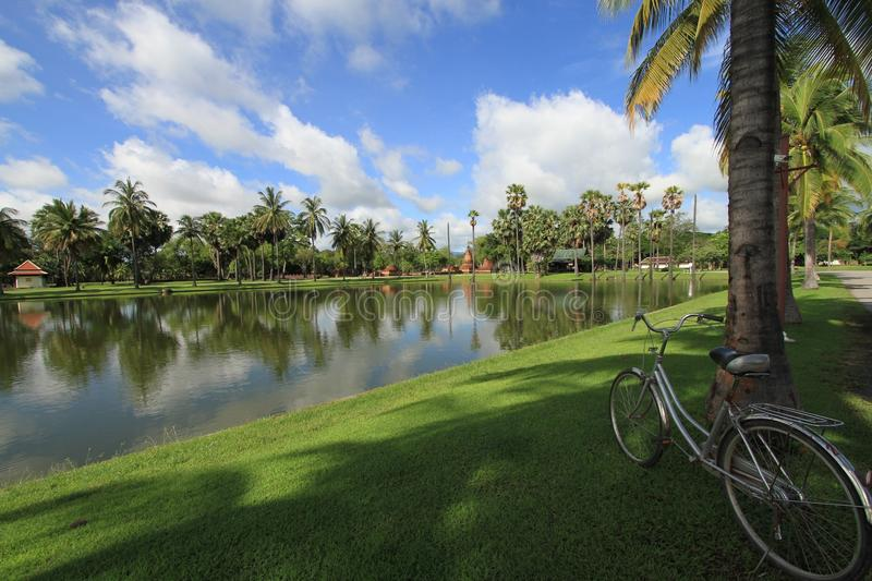 Download Bicycle In The Park Stock Photos - Image: 25442113