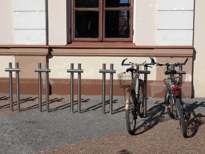 Download Bicycle Parking Royalty Free Stock Images - Image: 21226899