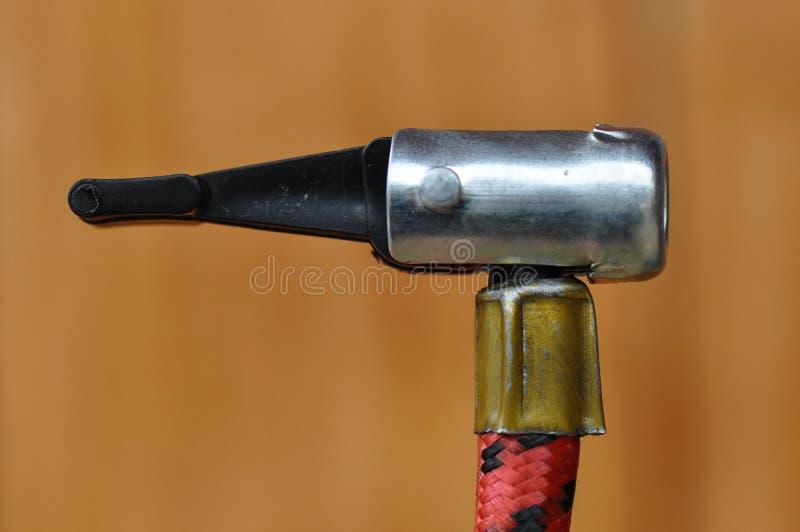 Bicycle Pump detail royalty free stock image