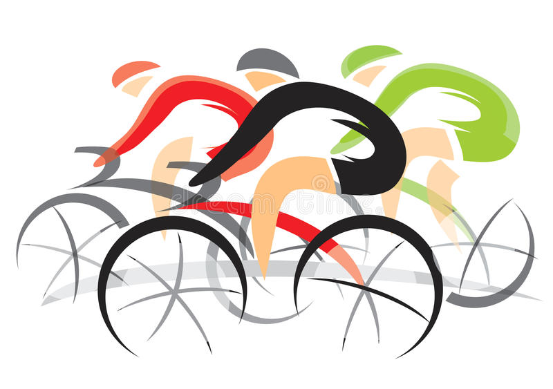 Bicycle Race vector illustration