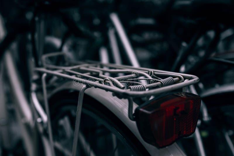 Bicycle rack stock image