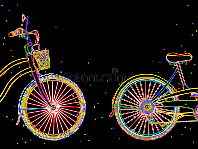Download Bicycle retro design stock vector. Image of activity - 31275694