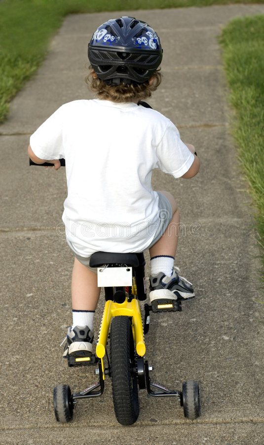 Bicycle Rider royalty free stock images