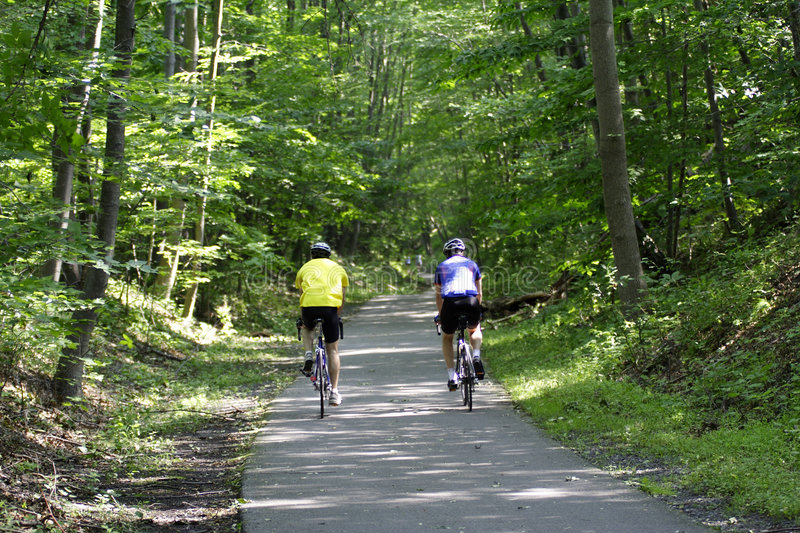 Download Bicycle Riders Royalty Free Stock Photography - Image: 1681697