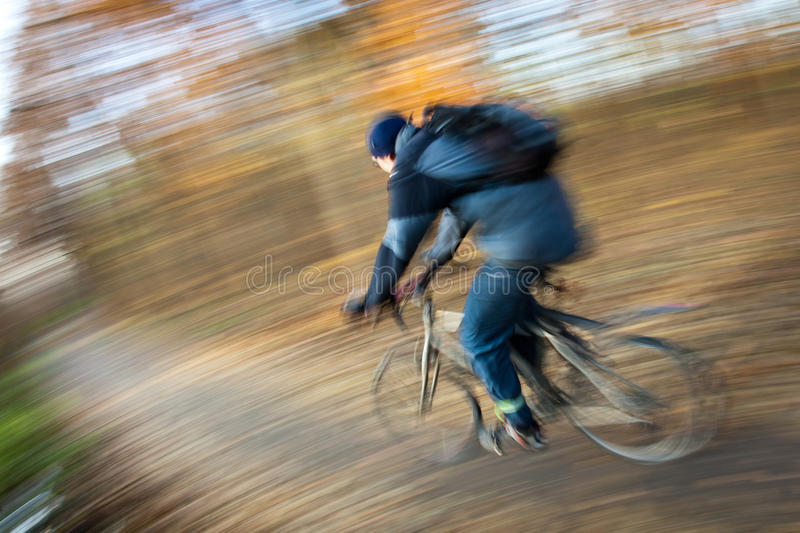 Download Bicycle Riding In A City Park Stock Image - Image: 22614535